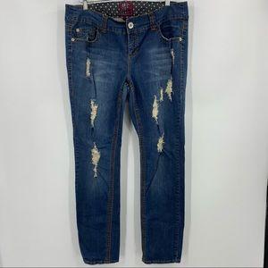 Torrid Denim Distressed Jeans Size 16